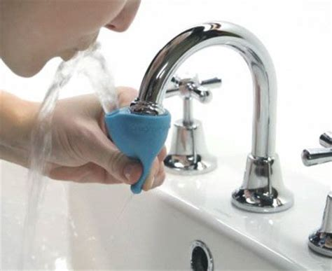 is it safe to drink sink water the tapi rubber water fountain attachment lets you make