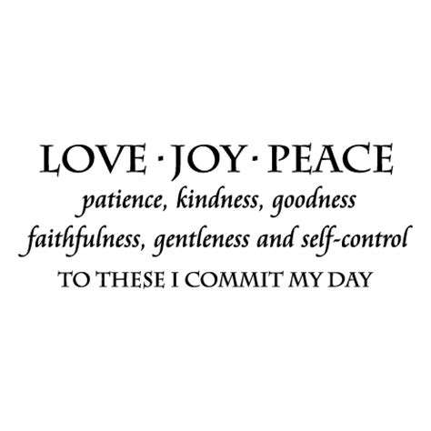 love joy peace wall quotes decal wallquotescom