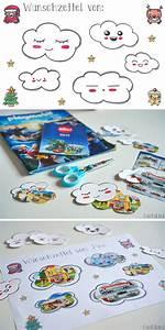 Weihnachtsbasteln Mit Kindern Vorlagen : w lkchen wunschzettel free printable blog cuchikind ~ Watch28wear.com Haus und Dekorationen