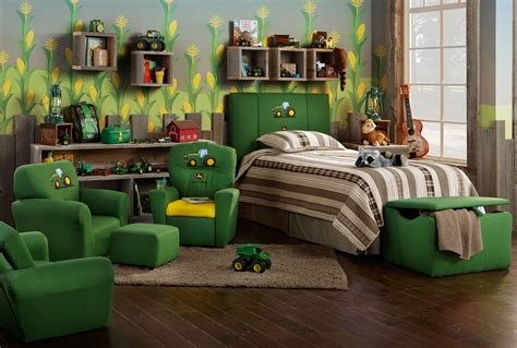 Deere Tractor Bedroom Decor by Deere Furniture By Kidz World