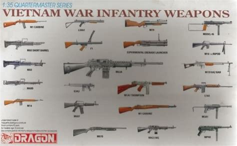 Vietnam War Infantry Weapons, Dragon 3818