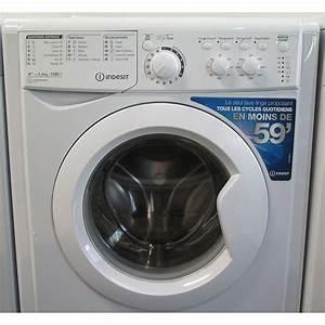 Comparatif Lave Linge Hublot : test indesit ewc61252w fr lave linge ufc que choisir ~ Melissatoandfro.com Idées de Décoration