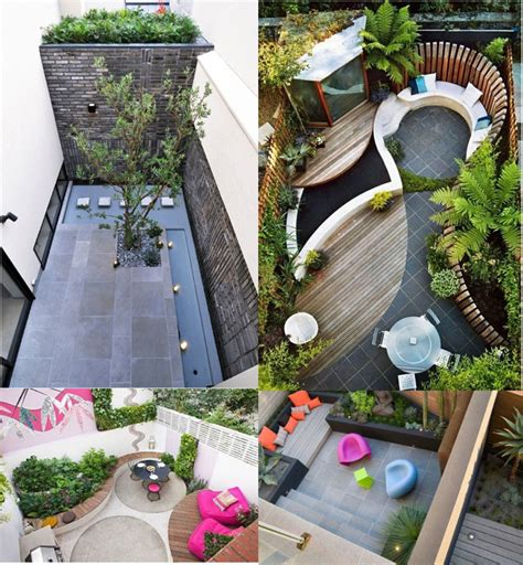 sensaciones de hogar como decorar una terraza  patio pequeno