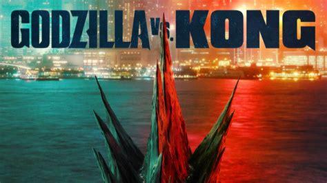 godzilla  kong tiene nuevo poster