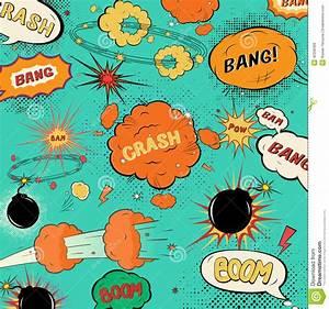 Template Vintage Comic Speech Bubbles Stock Vector - Image ...