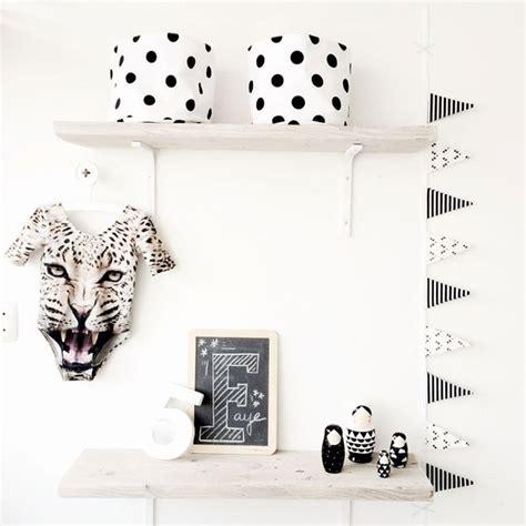 chambre bébé noir et blanc e interiorconcept