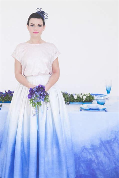 diy tutorial dip dye your wedding 183 rock n roll bride