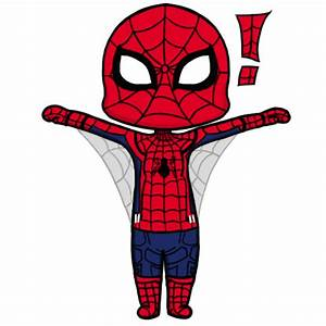 Chibi Spiderman (gif + speedpaint) by Moodlle on DeviantArt