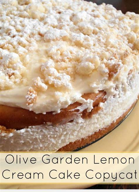 olive garden sparks olive garden lemon cake copycat recipe spark