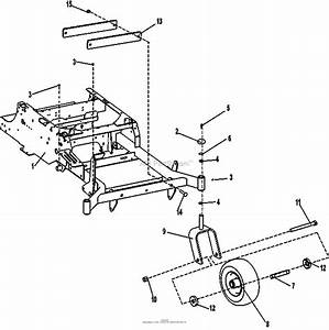 Bunton  Bobcat  Ryan 942621 Xrz Pro Fx651v Kaw W  52 Sd N 199  U0026 Below Parts Diagram For Caster