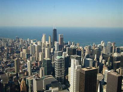 Chicago Skyline Wallpapers Night Bing Widescreen Wiki