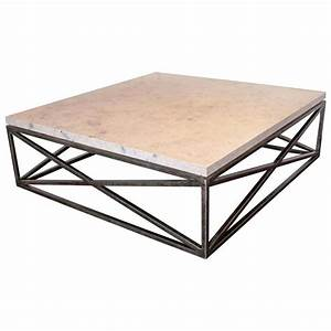 quotxquot motif base coffee table with jura grey limestone top With limestone coffee table