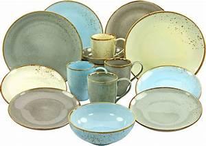 Geschirr Set Vintage : creatable combi servies aardewerk 16 delig scandic bestellen bij otto ~ Markanthonyermac.com Haus und Dekorationen