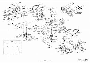 Dixon Ztr 311  1985  Parts Diagram For Transaxle Assembly