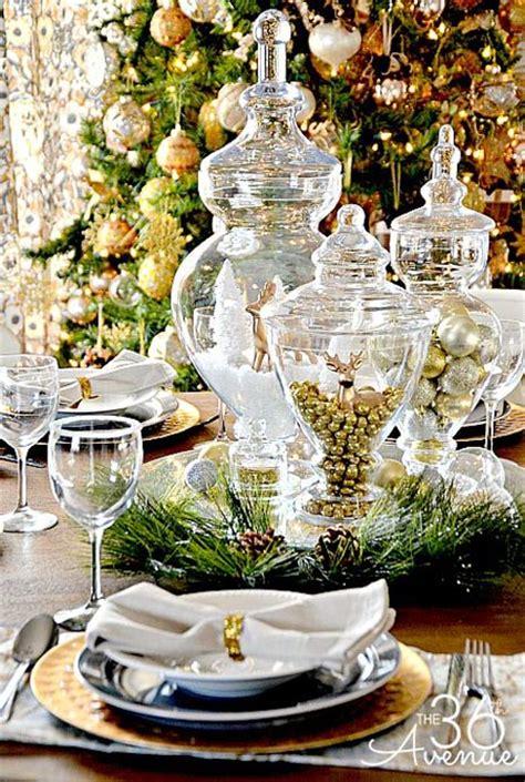 elegant christmas table settings ideas top 50 christmas table decorations 2017 on pinterest