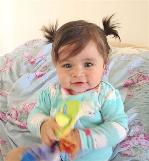 baby girl hair dos ponytails cute baby stuff  baby