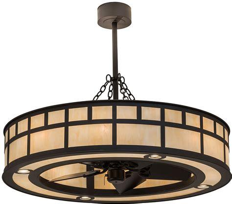 meyda tiffany ceiling fans meyda tiffany 174574 quot t quot mission oil rubbed bronze