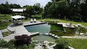 Schwimmteich selber bauen so sparen heimwerker kosten for Whirlpool garten mit beton balkon sanieren kosten