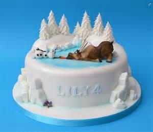 Olaf Disney Frozen Birthday Cake