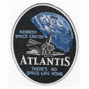 KSC Visitor Complex Atlantis exhibit patches ...