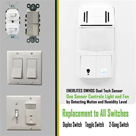 humidity sensor switch humidity switch by enerlites 2 in 1 humidity 1753