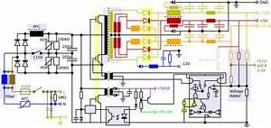 Power Cord Wiring Schematic