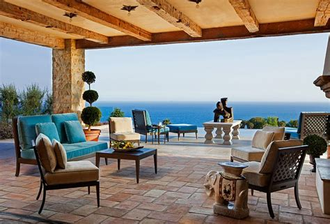 luxurious tuscan style malibu villa  paul brant williger architect