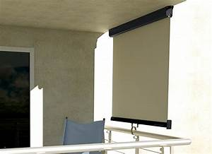 klemm markise balkon montage das beste aus wohndesign With markise balkon mit tapeten wohnzimmer beige