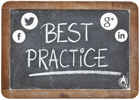 11 Best Practices Of Social Media Marketing And