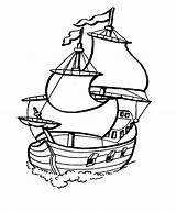 Coloring Boat Pages Printable sketch template