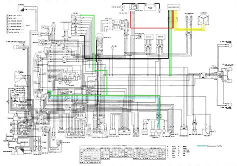 Honda Goldwing Wiring Diagram For 2012 by Schema Electrique 1500 Goldwing Combles Isolation