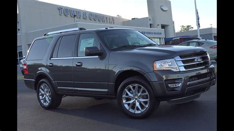 ford expedition limited hands  review walkaround
