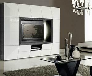 Meuble Haut Salon : meubles gaverzicht coin tv photo 1 10 un coin tv luxueux et haut de gamme de chez ~ Teatrodelosmanantiales.com Idées de Décoration