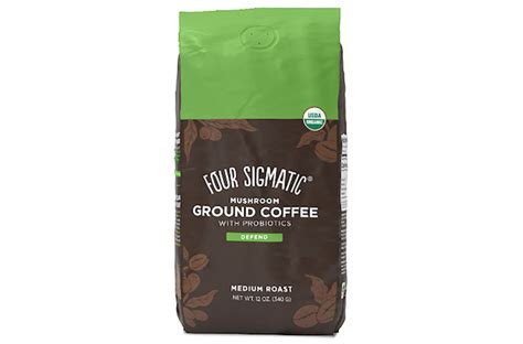 What do you see in your cup of mushroom coffee this morning? Four Sigmatic Introduces Mushroom Ground Coffee With Probiotics