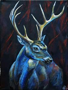 Night deer – Deer, light and other joys
