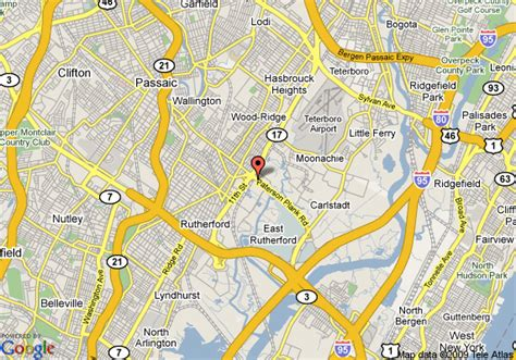 map  holiday inn express hotel suites meadowlands area