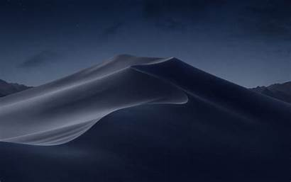Mojave Macos Night Wallpapers Desert 5k Dark