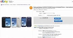 Deal  Unlocked Samsung Galaxy S3 For  380 At Ebay With