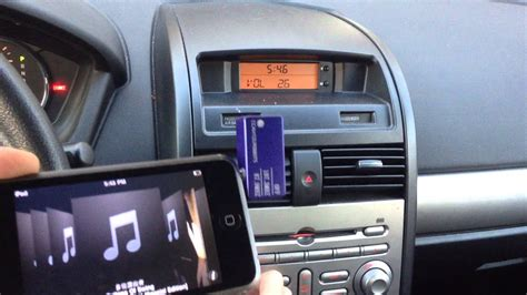 how to connect ipod to car stereo without aux