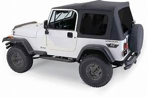 Rampage Products 68035 Complete Soft Top Kit with Tinted ...