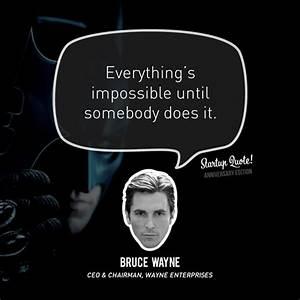 Bruce Wayne Quo... Famous Bruce Wayne Quotes