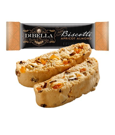 I prefer a biscotti that is a bit chewy in the middle and crunchy on the outside. Apricot Almond Mini Biscotti - DiBella Famiglia