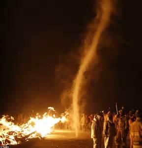 Burning Man Fire Tornado