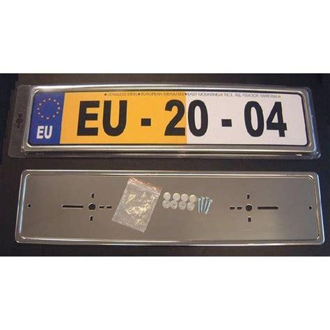siège auto sécurité support de plaque d 39 immatriculation inox feu vert