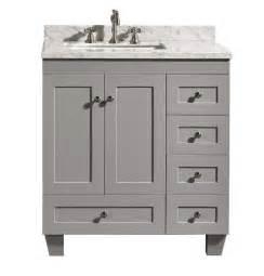 accanto contemporary   grey finish bathroom vanity