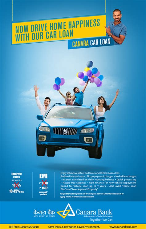 canara bank product ads  behance