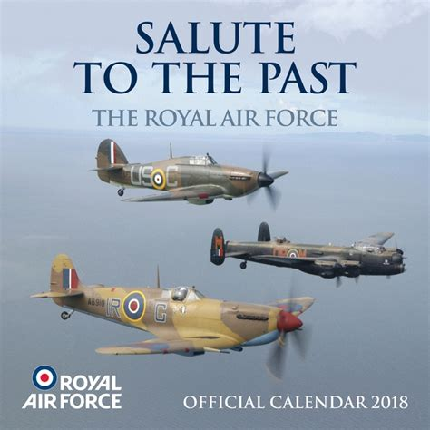 Official Raf Salute To The Past 2018 Calendar
