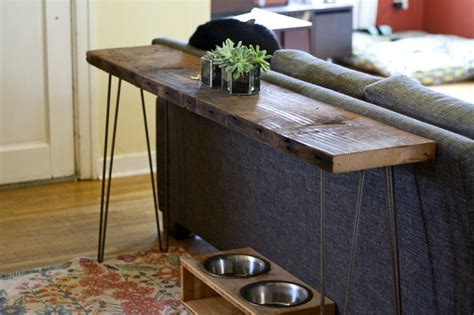 tables behind sofa narrow console table with storage narrow console table