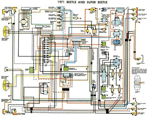 1970 camaro instrument cluster vw beetle and beetle 1971 electrical wiring diagram all about wiring diagrams