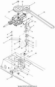 Mtd 13am662f765  2004  Parts Diagram For Drive